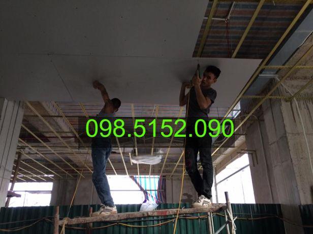 Địa chỉ thi công trần thạch cao tại Hà Nội